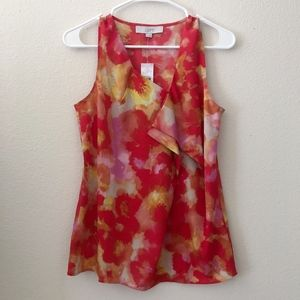 Ann Taylor Loft Abstract Design Top